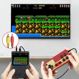 3-inch Mini handheld portable video game machine AV color LCD children's game machine retro model can store 400 sets