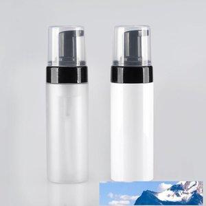 Leere 100ml PET-mattierter Facial Cleanser Foam Mousse Flasche Presse-Art Shampoo Seife Handreinigung Mehrweg