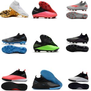 Phantom Vision VSN II Elite FG DF 2 2S Future Lab Pack de quartier Hommes haute cheville Chaussures de football Crampons de football Taille US6.5-11
