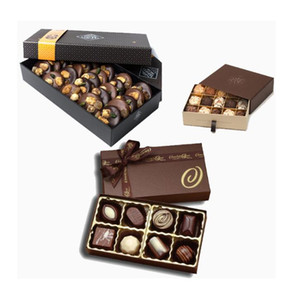 Оптовые Printed Престижной Empty еда шоколад Упаковка Две пьесы Box OEM ODM Лента Выдвижных подарки Шоколада Упаковка коробок Производитель