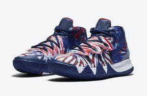 Kutu Ücretsiz Kargo Boyutu 40-46 ile Kyrie S2 Hibrid Batik Basketbol Ayakkabı 2020 En İyi Irving'in 5s Sneakers Mağaza