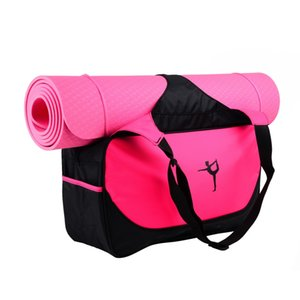 Hot! Waterproof Mutifunctional Nylon Outdoor Male Sport Bag Fitness Shoulder Gym Bag Training Female Yoga Duffel Not Mat