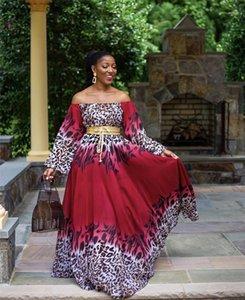 Manches numérique 3D Imprimer Maxi Robes Plus Size femmes Vêtements pour femmes 2020 Luxury Designer Robe longue