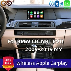 Sinairyu Wireless-Carplay Box für 1 2 3 4 5 6 7 Series X1 / X3 / X4 / X5 / X6 / Z4 / I3 / I8 / M3 / M4 / M5 / M6 CIC NBT Airplay Mirroring Car DVD Portable xyHs #