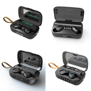 I12 TWS Wireless Earbuds Double V5.0 Bluetooth Headphones Ture Stereo Earphones Wireless Headset With Touch Control SIRI Pop Up Windows#878