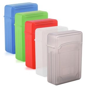 5 اللون المضادة -Static تسمية ضميمة 2 0.5 بوصة الأقراص الصلبة / SSD واقية ضد الصدمات حالة صندوق التخزين