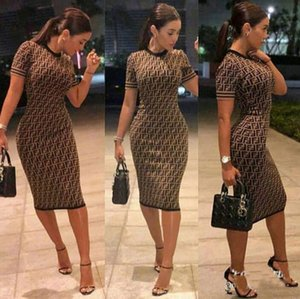 Hot Summer Mulheres mangas Two Pieces Set Vestido Bodycon Vestido Vestidos Sexy Bandage Top Curto Casual Party Club Dubai Vestidos Set