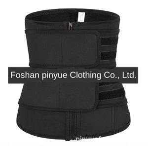Deportes de 2 capas Do Shen Fu Deportes de látex cuerpo hasta la cintura atado del vientre ropa que cubra todo el cuerpo-formar doble cinta doble tensio de las mujeres de goma