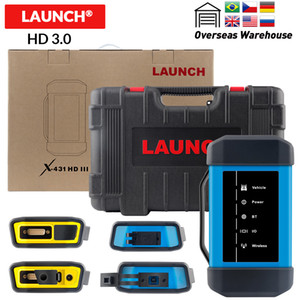 LAUNCH X431 HD 3.0 2.0 Heavy Duty Adapter box HD3.0 Module Truck Diagnostic Adapter for X 431 V+ X431 Pro3 pad II DHL free
