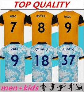 الرجال + الاطفال 2020 2021 الذئاب RAUL لكرة القدم الفانيلة 20-21 COADY CAMPANA PODENCE DIOGO NEVES كرة القدم قميص كرة القدم قميص OTTO ADAMA