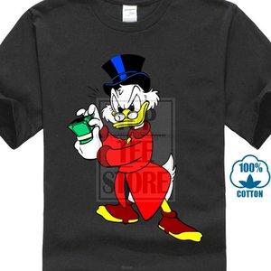 Donne divertente maglietta Paperon de 'Paperoni completi su misura ha stampato uomini della maglietta maglietta di modo fredda