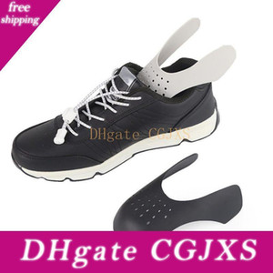 1 par de sapatos Shields Protector Preventer Toe Box decreaser Against / Prevent Vincos frente anti -Wrinkle Sneaker Crease