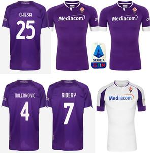 2020 2021 RIBERY SIMEONE PRINCE pezzella de football FIORENTINA CHIESA 20 21 Fiorentina Football Shirts VLAHOVIC de foot Maillot