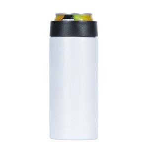 Standart 330ml kola soğutucusu için 12oz paslanmaz çelik süblimasyon İçecek Can İzolatör çift duvar vakum Bira Tutucu o soğuk V05 tutabilir