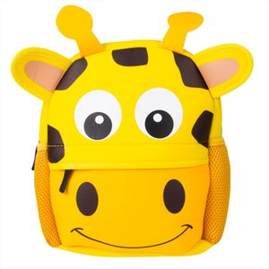School Bags Local stock Kid Toddler Backpack Kindergarten Schoolbag Baby Cartoon Animal Bag Shoulder Bag Drop Shipping