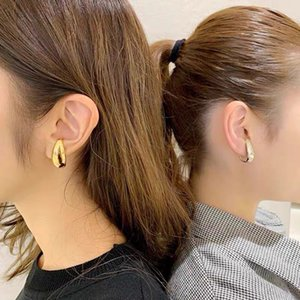 Vintage Ear Cuff Punk Metal Clip Earrings for Women Gothic Earring Goth Jewelry Brand Cuff Earring Gold Femme Brincos Earring