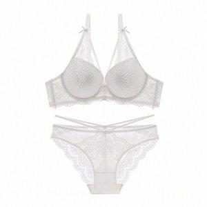 Kadınlar için nefes külot yay dantel sutyen balenli iç çamaşırı yukarı Varsbaby yeni seksi itme Y200415 KOB8 #