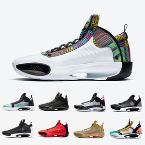 2020 Shoes Jumpman 34 basquete masculino XXXIV Rui Hachimura X 34s Património infravermelhos 23 esportes tênis Noah Black Cat Snow Leopard Crispy Mens
