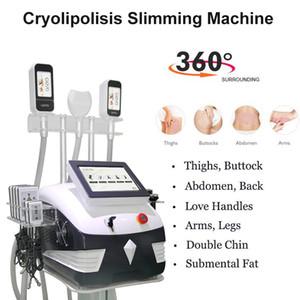 Spa Salon Cryo 360 Cryolipolisis Fat Machine de congélation Localisée congélateur cryo minceur graisse vide machine RF