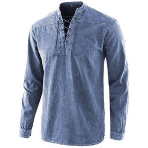 Sıcak Gömlek Paisley Polo Gömlek Yeni Stil Erkek Tees Gömlek Yaz Folk-Custom Erkek T Shirt Uzun Kollu Adam Giyim T Shirt # 628