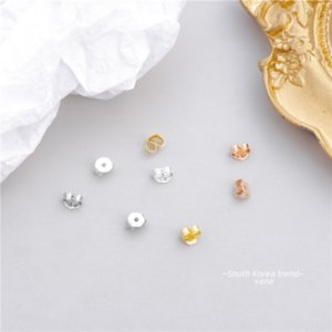 0HHQs S925 argento sterling accessori earringsearring earringsplug classico spina di colla orecchio proiettile colla molle ear stud orecchini accessori sil