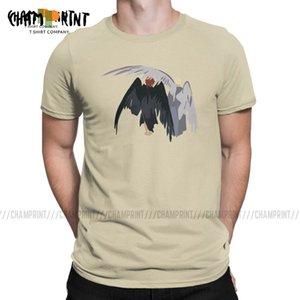 İyi Omens T Gömlek Erkek Gülünç Tişört Tarifsiz Aziraphale Crowley Demon Melek Tees Kısa Kollu Elbise Yeni Geliş