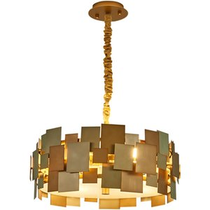 Artpad Nordic moderna lampada a sospensione Living Room Restaurant Cafe acciaio inossidabile Luxury Gold ruotabile Sospensione E14