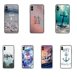 Apple iPhone 11 12 Pro X XR XS MAX 5 5S 5C SE 6 6S 7 8 Plus Yumuşak TPU Capa Kapak Kılıf Run Away Sağlar Çapa Plaj Alıntı İçin