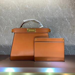 Сумка сумка сумка рука сумка натуральная кожа классический замок Высокое качество Съемный интерьер карманный золотой аппаратный вышивка письма на плечо