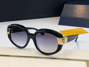 상자 Z1391E 여성 인기 선글라스 1395 패션 타원형 랩 남여 모델 큰 프레임 표범 이중 색상 프레임 최고 품질 제공