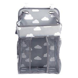 Lit bébé nouveau-né Sac à langer Hanging Diaper Caddy multi-fonction sac de rangement Organisateur Diaper Stacker pour la table à langer