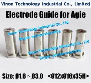 Guía del electrodo 1.6-3.0mm Agie para Actspark SD1, Drill20, HD30 335009852,335009073,335009074,335009075,335009076,335009077,335013223,335009078