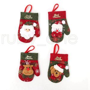 Weihnachten Besteck, Gabel, Löffel Taschen Geschirr-Halter-Abdeckung Handschuhe Weihnachten Gastronomie Geschirr Dekor Weihnachtsschmuck RRA3527