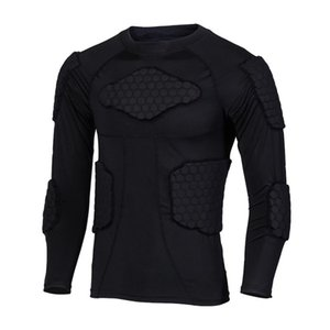 Esqui anti-colisão Sports Shirts Anti-colisão da motocicleta proteção camada Underwear base Jacket Moto Protective corpo
