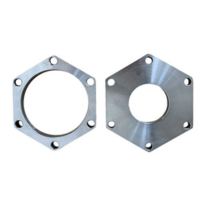 Stainless steel hexagonal flange SO flange plate 316L GB American standard non-calibration