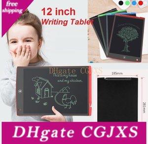 Lcd дощечка 12-дюймовая цифровая мнемодоска Blackboard почерк колодка с модернизированной Pen Для взрослых Детей Управления Drawing