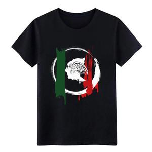 messicani grunge t uomini della camicia di stampa tee shirt rotonda Collare raffreddano Famosa confortevole camicia primavera Unico