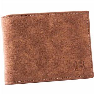BABORRY 2019 Sac Hommes Portefeuilles monnaie homme Porte-monnaie en cuir Petit porte-monnaie court Homme PU Porte-monnaie Porte-cartes porte-monnaie Hommes Portefeuille monnaie