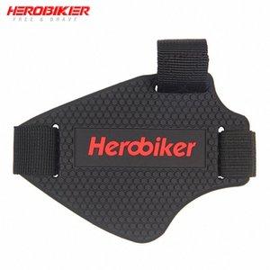 Moto HEROBIKER Riding Chaussures de vitesse Maj Pad Course de motos Bottes de protection amovible gardes de vitesse Scuff Protector Mark Cover foqI #