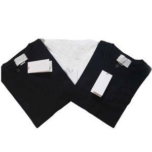 S-4XL Piccolo Lettera Mens magliette degli uomini Stampa traspirante Oversize Uomo Donna magliette Girocollo Plus Size Tee shirts uomo manica corta cime della maglietta