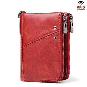 Womens Wallet Cowhide Leather Short Purses Female Small Mini Wallet Woman Coin Purse Lady Card Holder Cuzdan Cartera Mujer