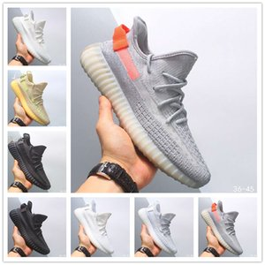 Top Quality 35o economico Uomini Statico Argilla Sesame True Form Hyperspace Uomini Donne Scarpe Kanye West Beluga v2 Arancione Sneakers sportive Bred esecuzione
