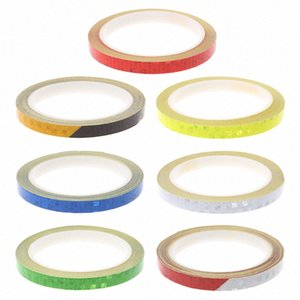 Bicycle Reflector Reflective Sticker Safety Warning Cycle Fluorescent Decal Tape Safety Cycling Accessories 9bFy#