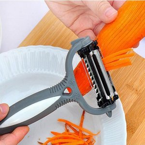 Multifunctional Rotary Peeler 360 Degree Carrot Potato Orange Opener Vegetable Fruit Slicer Cutter Kitchen Accessories Tools YYA54