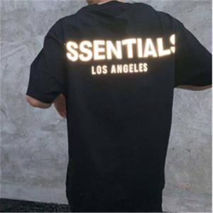 19SS FOG FEAR OF GOD ESSENTIALS T-Shirt Männer-Designer-Kleidung kurze Ärmel Punk Hip-Hop-Tops drucken Brief Skateboard Luxus Lässige T-Shirts S-XL
