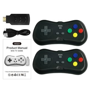 Wg01 Wireless Super Mini Tv Video Game Players Console With Gamepad Handheld Player For Kids Gift Game Console 2 .4g