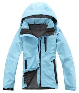 무료 배송 2019 여자 데날리 양털 후드 재킷 패션 캐주얼 따뜻한 방풍 스키 얼굴 키즈 재킷 최고의 가격 재킷 정장 S-XXL