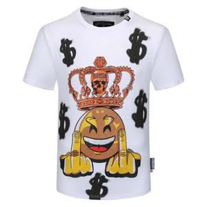 남성 티 셔츠 편지 자수 남성의 패션 캐주얼 T 셔츠 남성 스트리트 럭셔리 디자이너 T 셔츠는 짧은 소매 티셔츠 PP 3XL 탑
