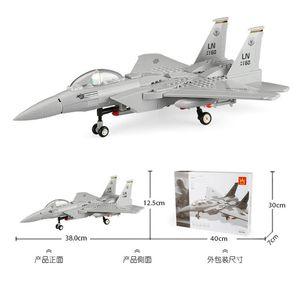 كتل جديدة ومثيرة للاهتمام بناء طائرات التجمع J-15 المقاتلة طائرة J-20 نموذج الطائرة الهليكوبتر الفتيان والفتيات الألعاب التعليمية للأطفال