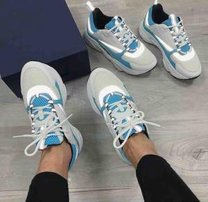 Royal Blue B22 مصممون أحذية سوداء وحيد عارضة أحذية الرجال المدربين 2021 رجل مدربين مصممون أحذية رياضية في الهواء الطلق أحذية المشي أعلى بيع